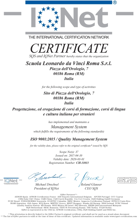 iqnet-rome-certified-quality